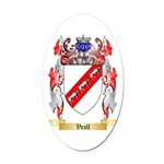 Veall Oval Car Magnet
