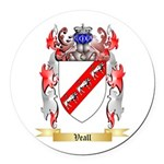 Veall Round Car Magnet