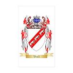 Veall Sticker (Rectangle 10 pk)