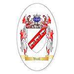 Veall Sticker (Oval 50 pk)