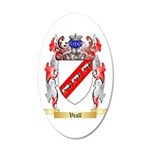 Veall 20x12 Oval Wall Decal