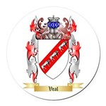 Veal Round Car Magnet