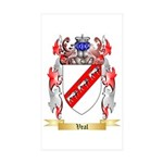 Veal Sticker (Rectangle 10 pk)