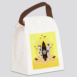 Surfboards Canvas Lunch Bag