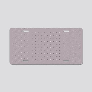 Wobbly Illusion Aluminum License Plate