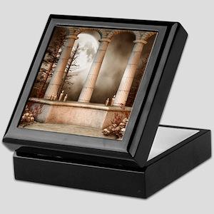 Gothic Marble Columns Keepsake Box