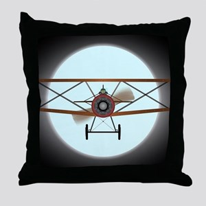 Flying by Night Throw Pillow