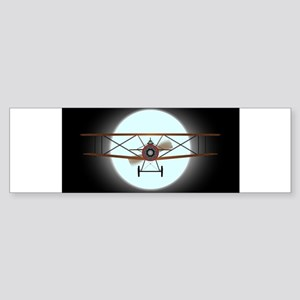 Flying by Night Bumper Sticker