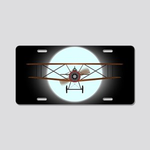 Flying by Night Aluminum License Plate