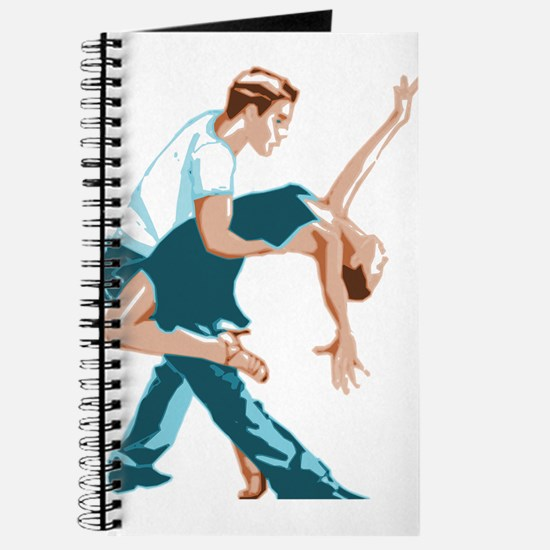 Salsa Dancers in two-tone color Journal