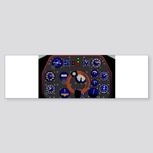 Control Panel Bumper Sticker