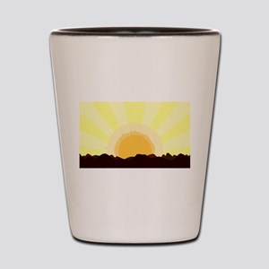 Sunset Shot Glass