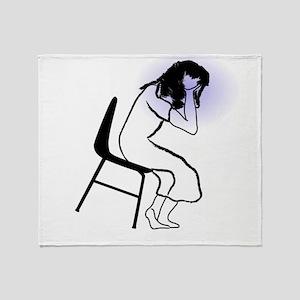 Headache Throw Blanket