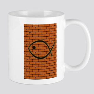 Christian Fish Graffiti Mugs