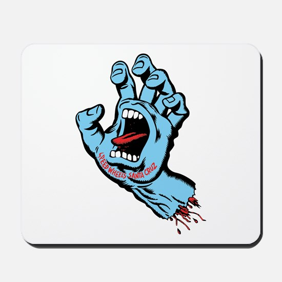 Santa Cruz hand art Mousepad