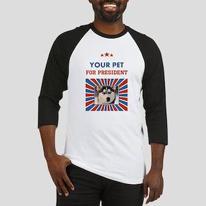 Custom Your Pet For President Baseball Jersey