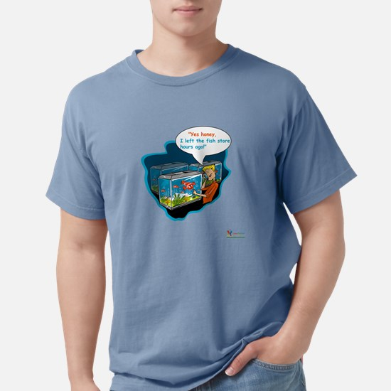LTR - Left The Fish Store Hours Ago! T-Shirt
