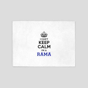 I can't keep calm Im RAMA 5'x7'Area Rug