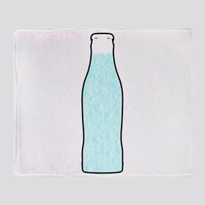 Carbonated Water Throw Blanket