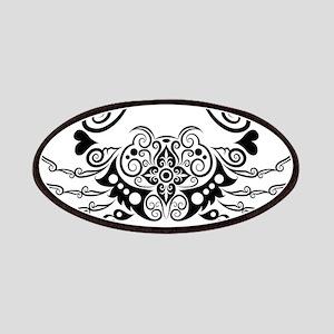 Vivid hand drawn crab decoration pattern Patch