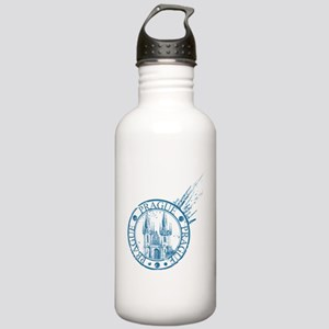 Prague travel stamp Stainless Water Bottle 1.0L
