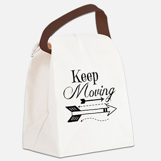Cute Moving Canvas Lunch Bag