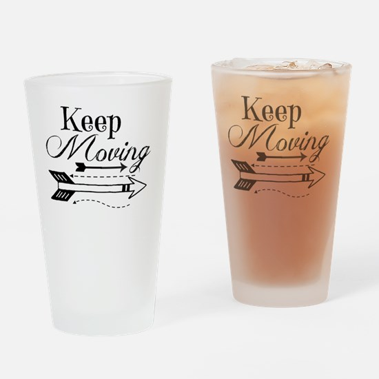 Cute Moving Drinking Glass