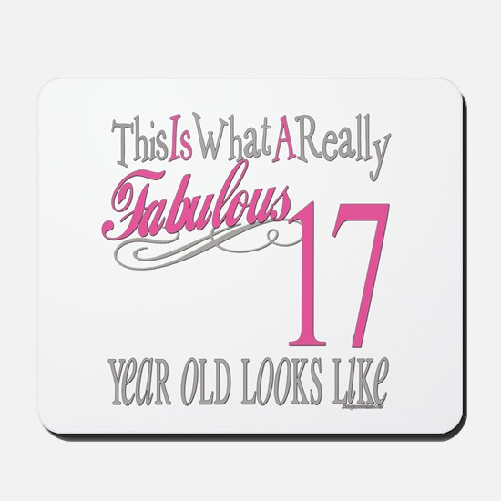 17th Birthday Gifts Mousepad