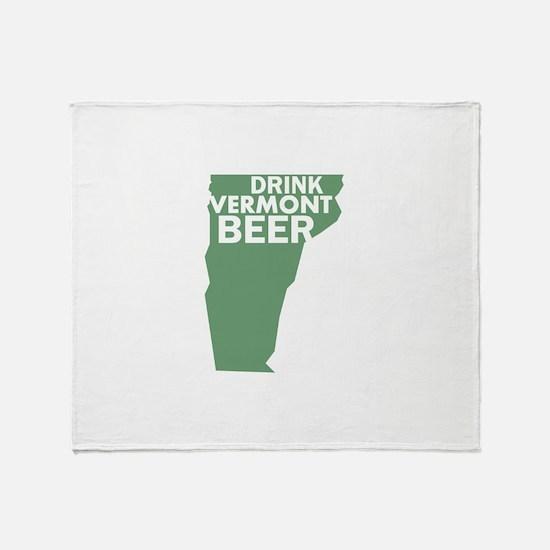 Funny Drink beer Throw Blanket