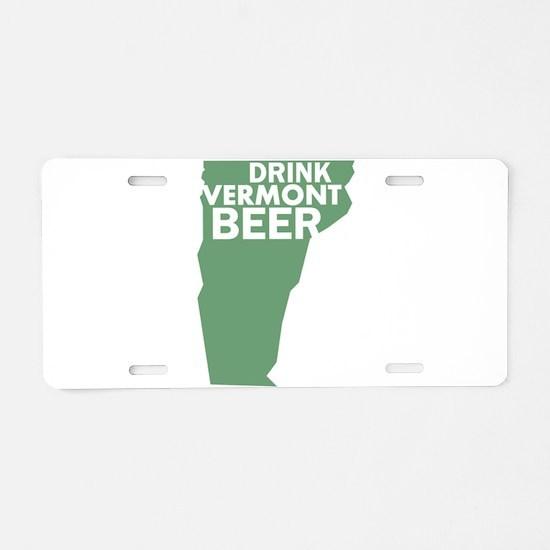 Cute Vermont Aluminum License Plate