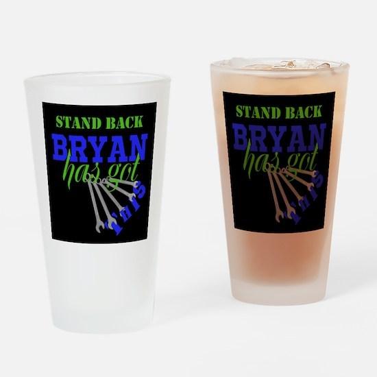 Tech: Mechanic Personalize Drinking Glass