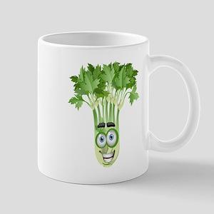 Smiley coriander cartoon image Mugs