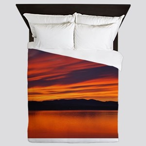 Summer Sunset Queen Duvet