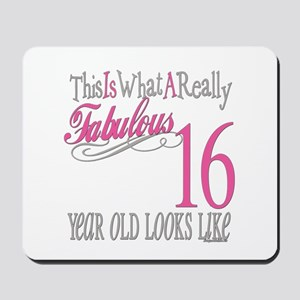 16th Birthday Gifts Mousepad