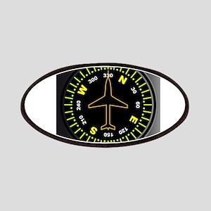 Aircraft Compass Patch
