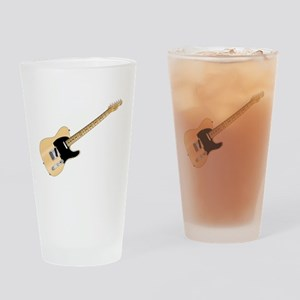 Rock Guitar Drinking Glass