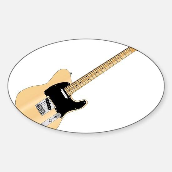 Rock Guitar Decal