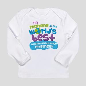 Quality Assurance Engin Long Sleeve Infant T-Shirt