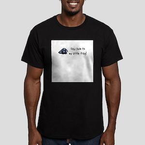 Hello Frag Ash Grey T-Shirt