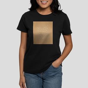 Tea Cup Bubbles Valentine Heart T-Shirt