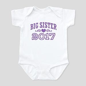 Big Sister 2017 Infant Bodysuit