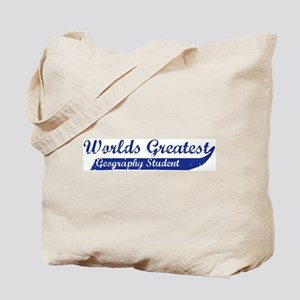 Greatest Geography Student Tote Bag