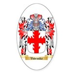 Vavruska Sticker (Oval 50 pk)
