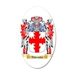 Vavruska 35x21 Oval Wall Decal