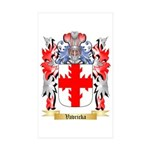 Vavricka Sticker (Rectangle 10 pk)