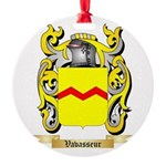 Vavasseur Round Ornament