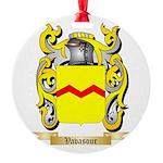 Vavasour Round Ornament