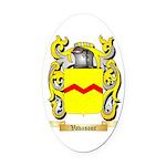 Vavasour Oval Car Magnet