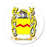 Vavasour Round Car Magnet