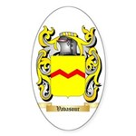 Vavasour Sticker (Oval 50 pk)